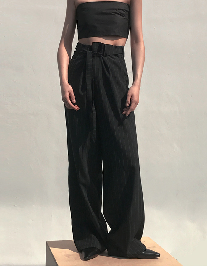 [CMNM COLLECTION] MM WIDE PANTS (STRIPE)