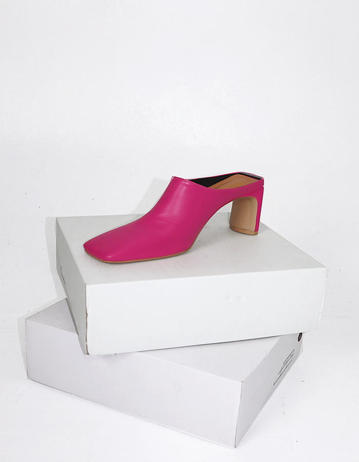 Square toe mule (4 color)