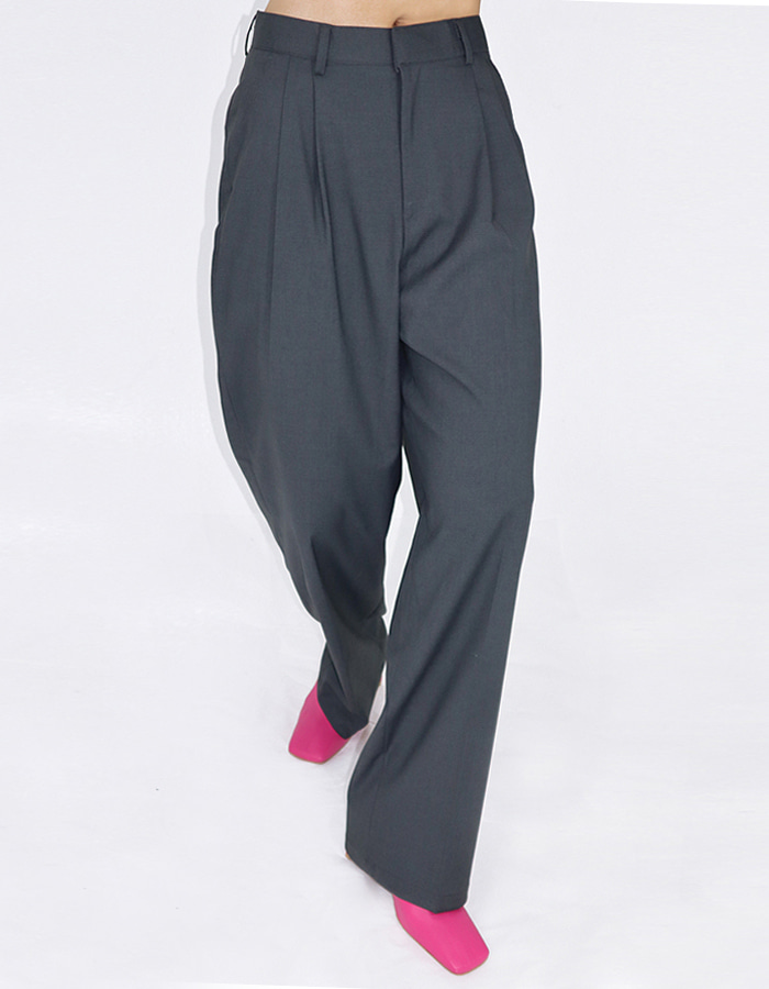 Unisex 2 tuck slacks (2 color)