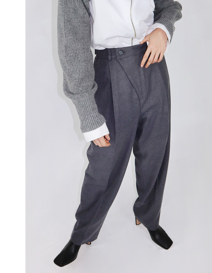 Unisex wool wrap pants (3 color)