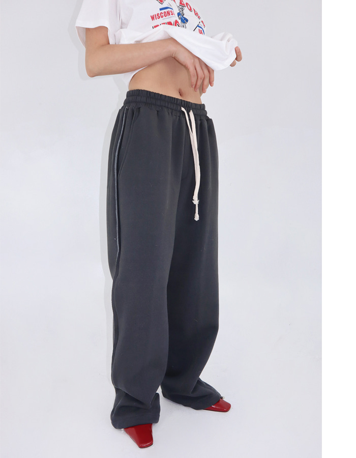 Unisex seaming sweat pants (3 color)