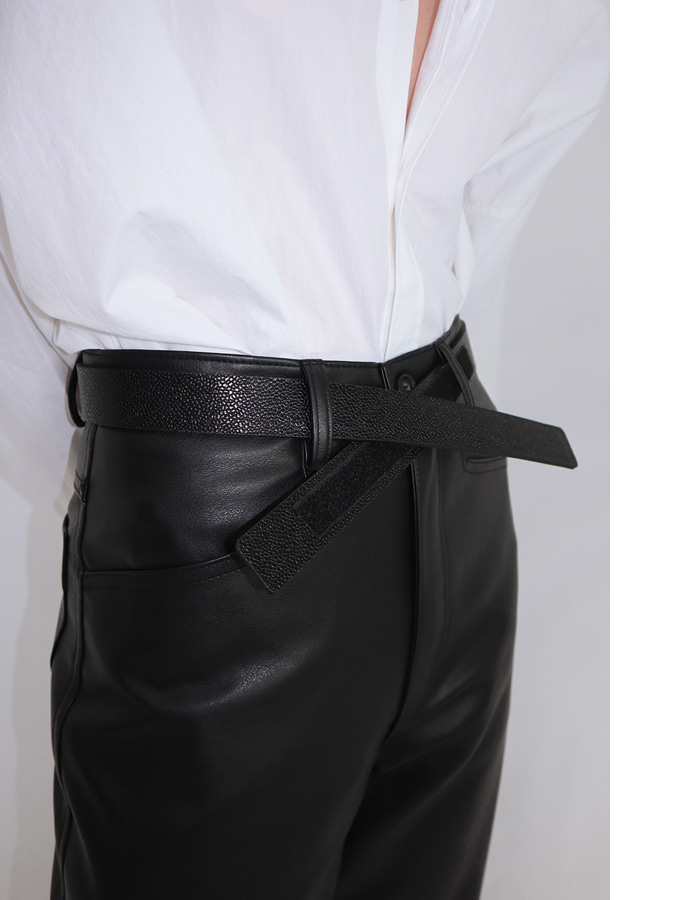 Unisex velcro belt (2 color)