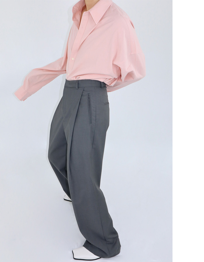 Unisex one tuck slacks (3 color)