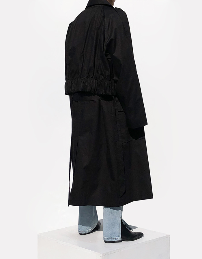 JUMPER TRENCH COAT (2 COLOR)