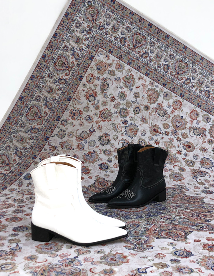 WESTERN BOOTS (2 COLOR)