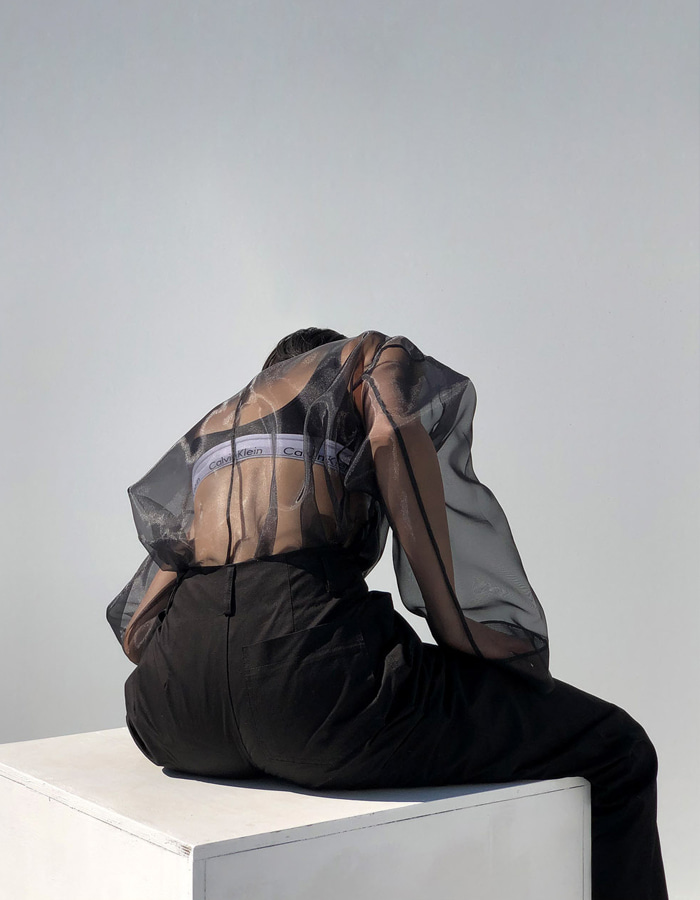 UNISEX SEE-THROUGH JACKET (3 COLOR)