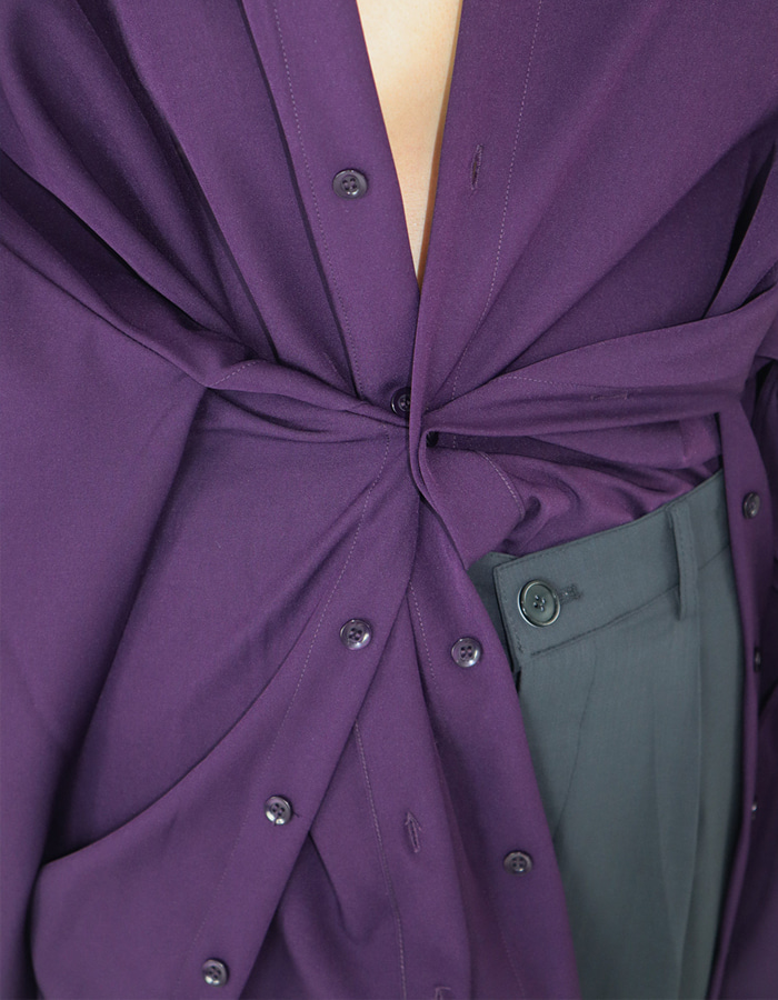UNISEX UTILITY SHIRTS (PURPLE)