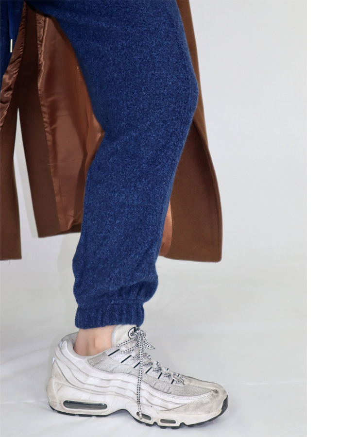Unisex knit jogger pants (4 color)