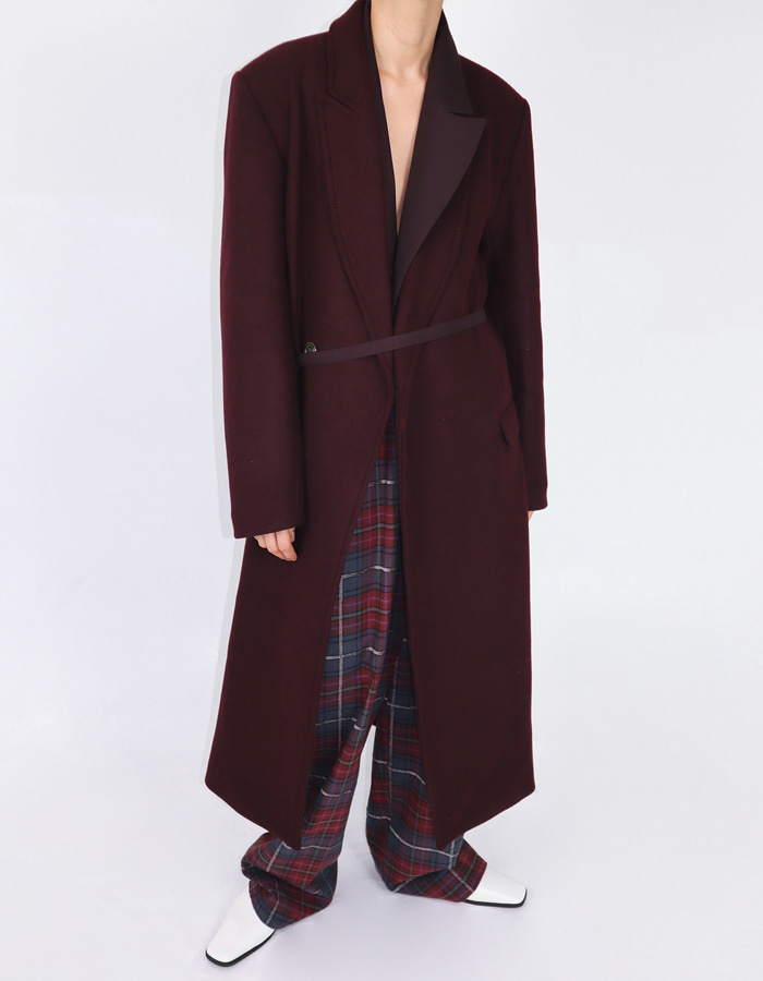 [Cmnm collection] Dinner coat (Port wine)