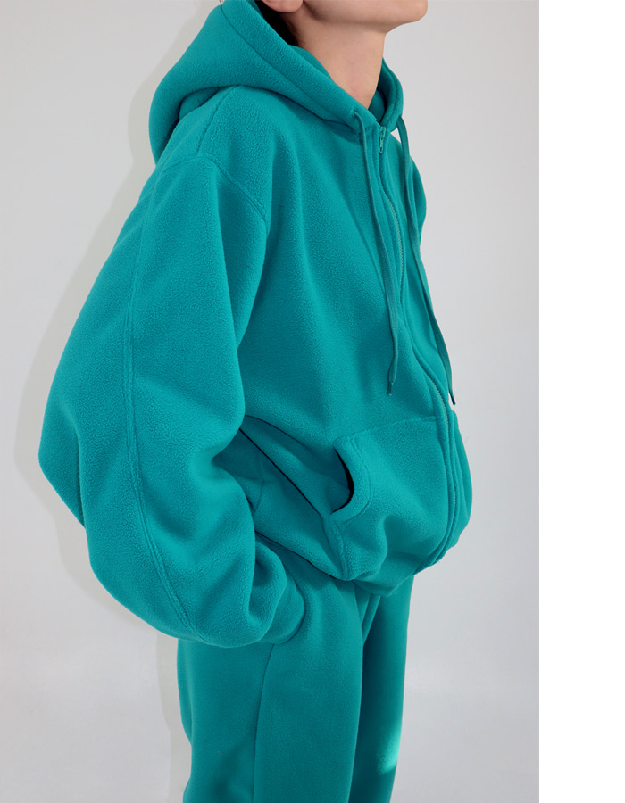 UNISEX FLEECE HOOD JUMPER (4 COLOR)
