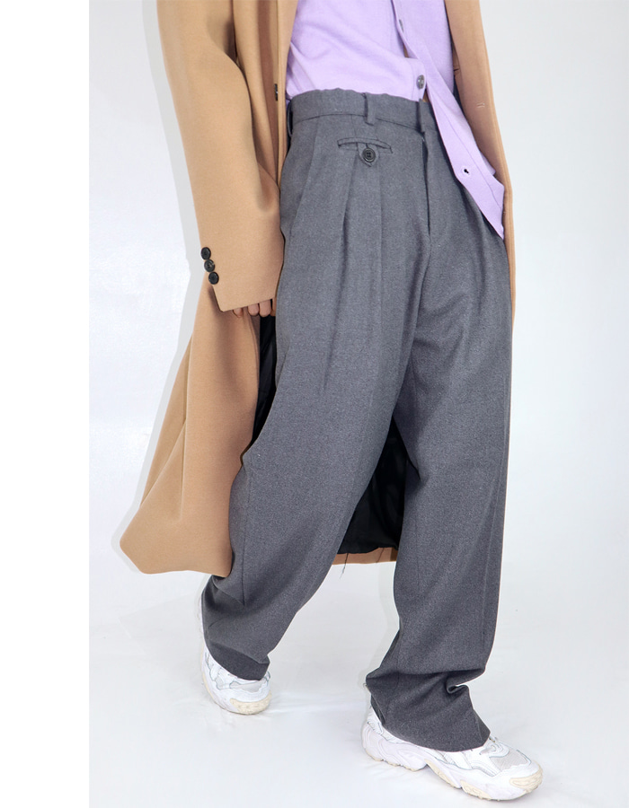 Unisex pocket slacks (3 color)