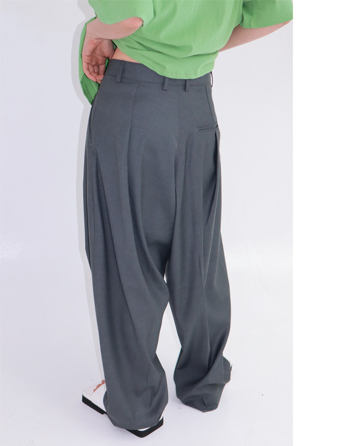 Unisex Back N Forth Tuck Slacks (2 Color)