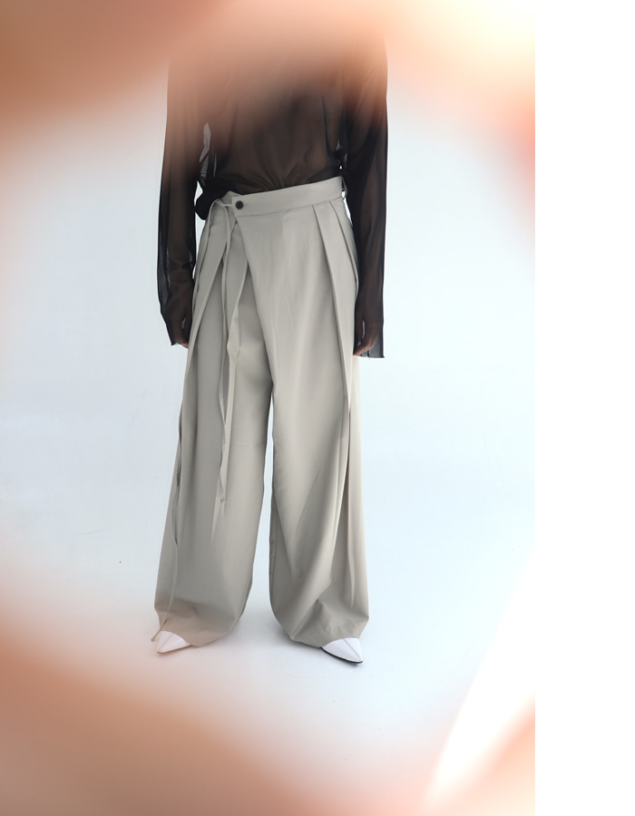 Unisex Strap Wrap Pants (3 Color)